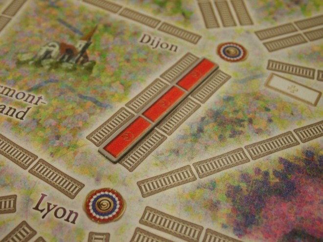 Ticket To Ride Placed Track
