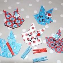 diy guirlande lapins origami
