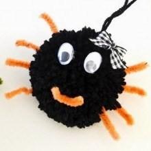 diy-araignee-pompon-Halloween
