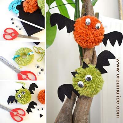 diy-chauve-souris-pompon-Halloween-Creamalice