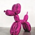Ballon en forme de chien (Magenta) Jeff Koons