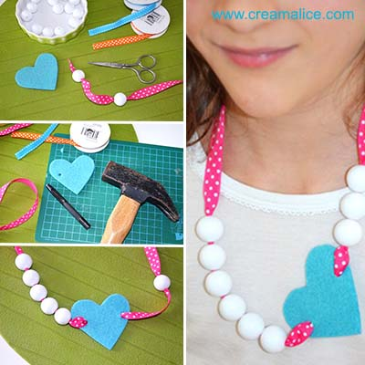 diy-collier-fantaisie-cœur-Saint-valentin