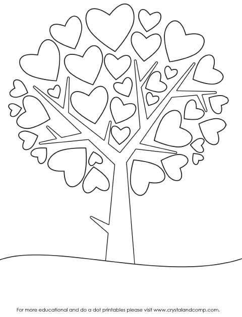 {Printable} Coloriages Coeurs