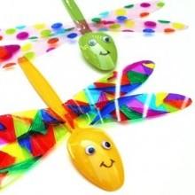 recyclage créatif enfant earth day