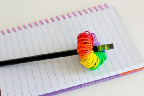 Craft-a-Rainbow-Loom-Band-Pom-Pom-Pencil-Topper
