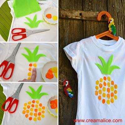 diy-tee-shirt-ananas-empreintes-doigts-Creamalice