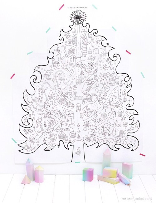 diy-giant-christmas-tree-coloring