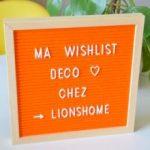 Wishlist {déco} chez Lionshome