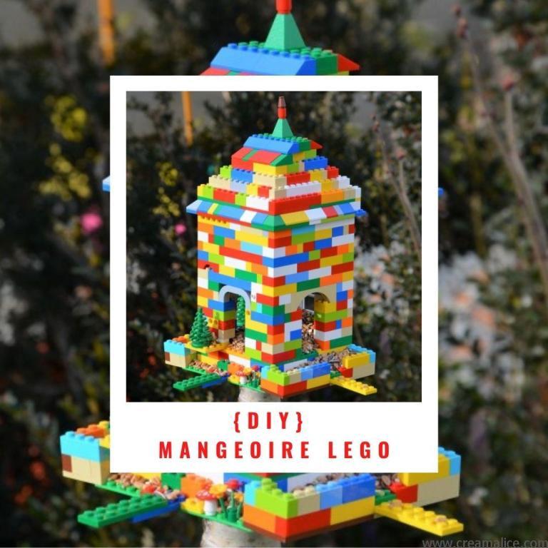 diy mangeoire oiseaux Lego
