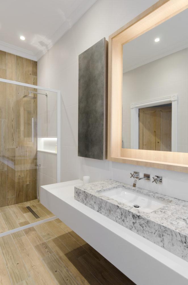 Scandinavian Bathroom  creamblack