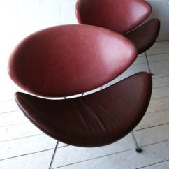 Orange Slice Chair Repair Office Chairs Johannesburg Pierre Paulin For Artifort Cream And Chrome