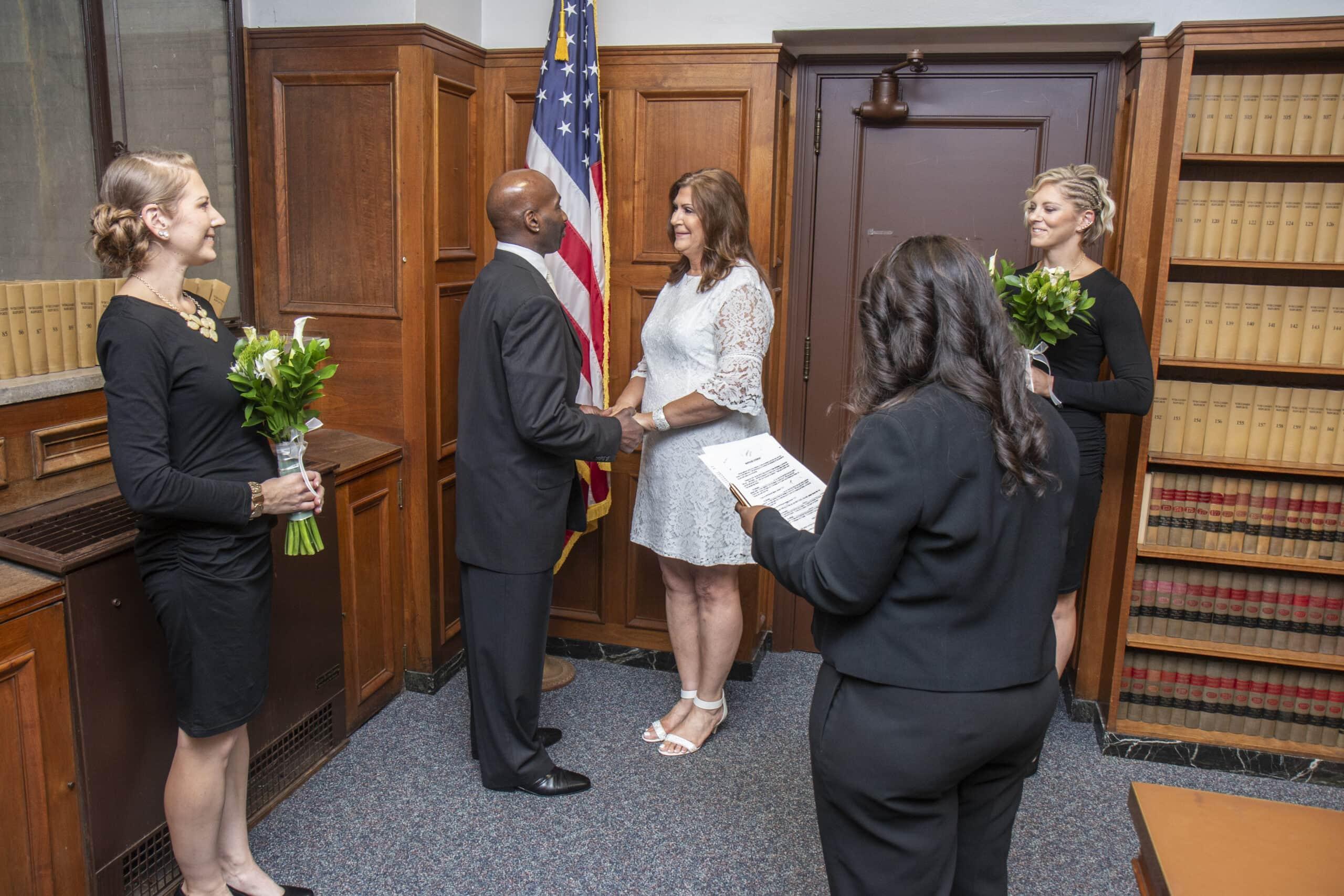 Courthouse Documentary Wedding Photography