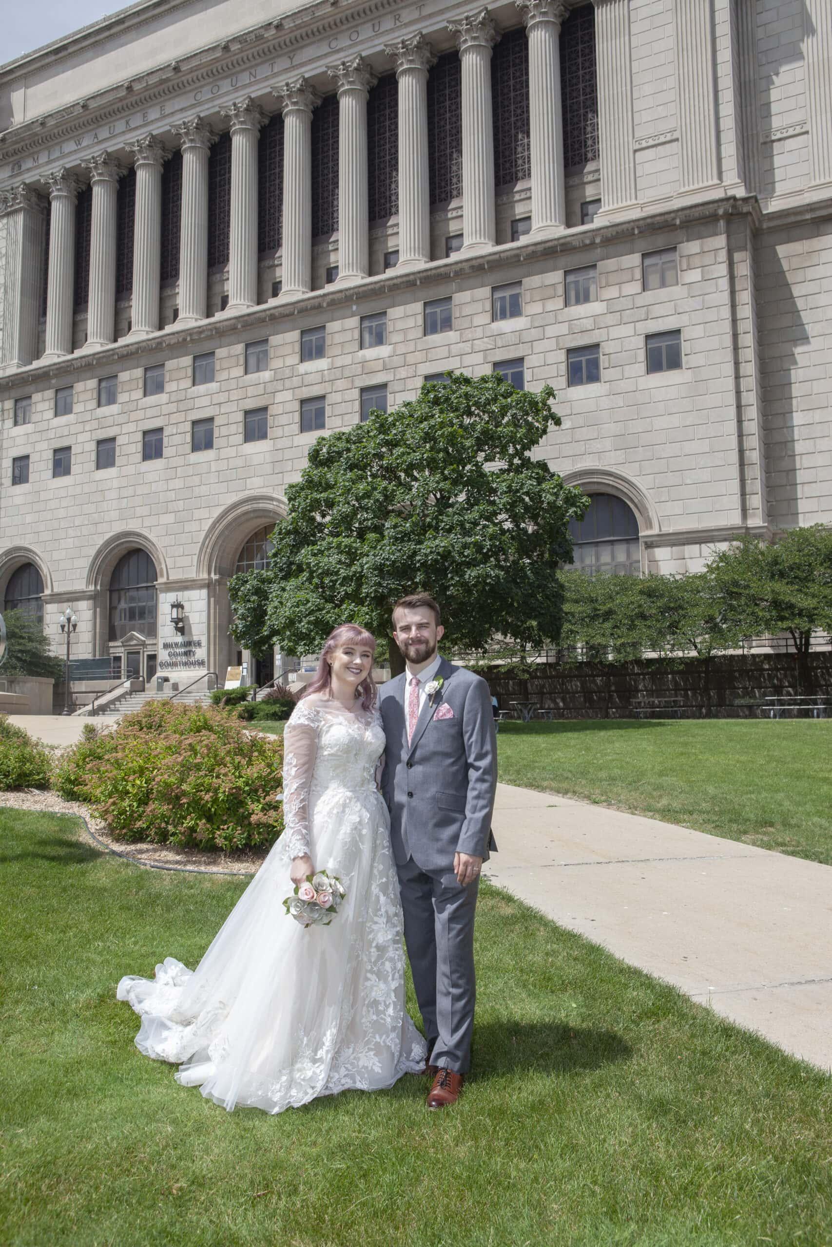 Courthouse Wedding Photographers Milwaukee
