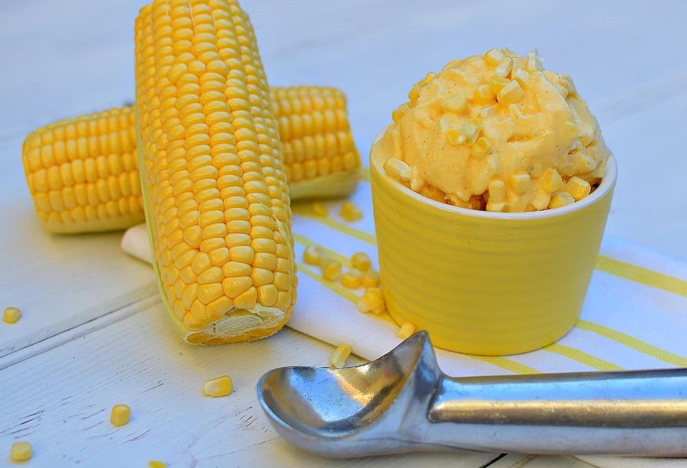 Corn Ice Cream Recipe Easy Homemade Ice Cream Creamish