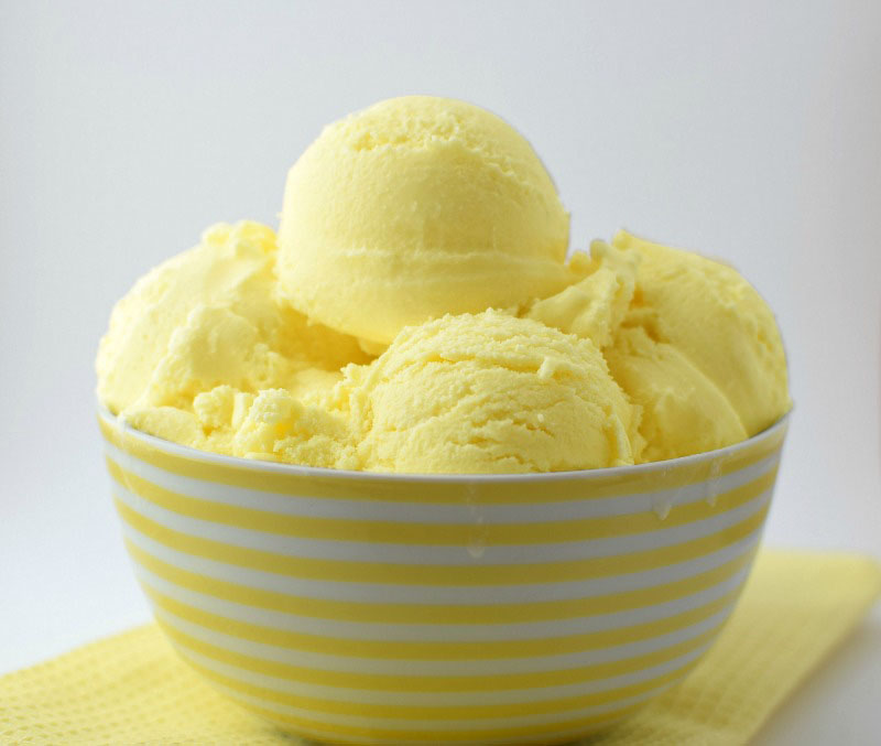 Lemon ice cream recipe