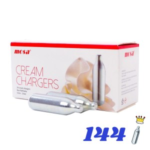 144 CREAM KINGS CREAM CHARGERS