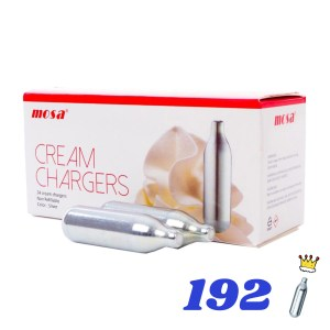 192 CREAM KINGS CREAM CHARGERS