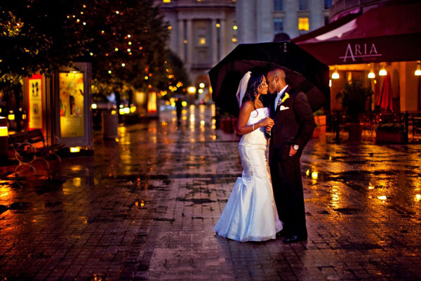 If its rainingsnowing on your wedding day