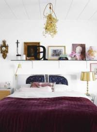 Reader question: Cream, purple & gold bedroom