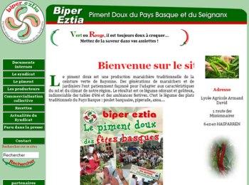 Biper Eztia, GIE des Producteurs de Piment Doux