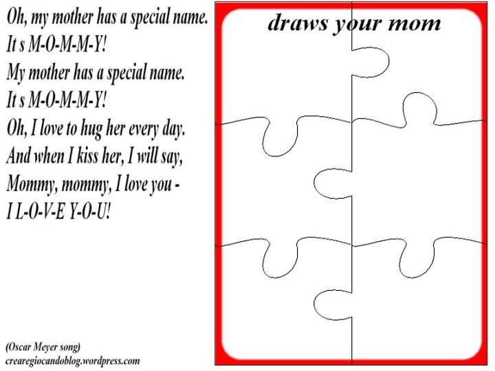 puzzle della mamma inglese