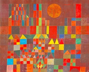 Castle and Sun Paul Klee