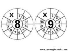 tabelline 8 e 9