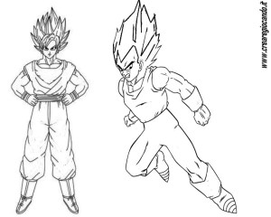 Personaggi Di Dragon Ball Da Colorare Crearegiocando