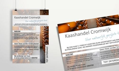 Advertentie Kaashandel Cromwijk