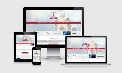 Website Semper Lex