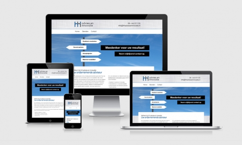 Website HH advies en innovatie