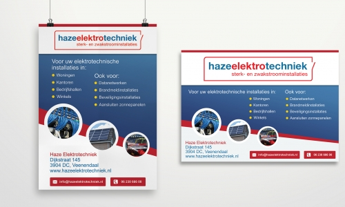 Advertenties Haze Elektrotechniek