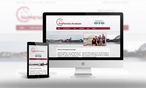 Website Happietaria Nijmegen