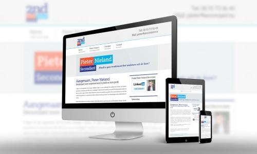 Website Pieter Nieland Secondant