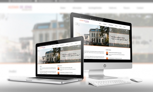 Website Ausma De Jong Advocaten