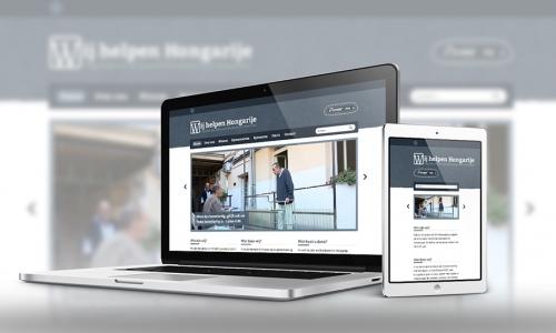 Website Wij Helpen Hongarije