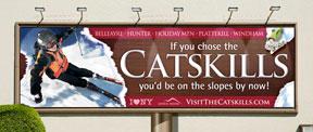 Hunter Mountain Billboard design by Creatacor