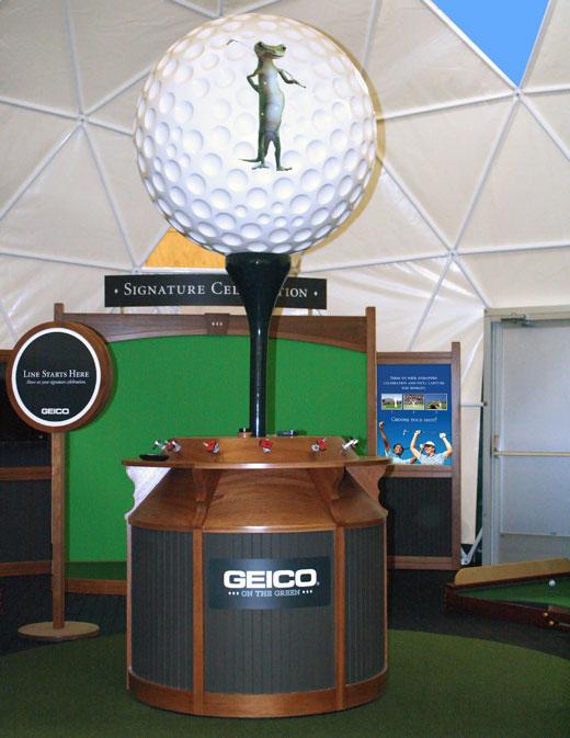 Creatacor Nori Award 2011 Entry - GEICO 30' x 30' custom event