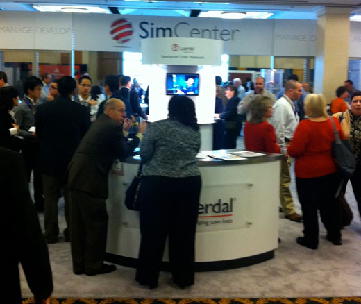 Laerdal and HealthStream at IMSH 2011