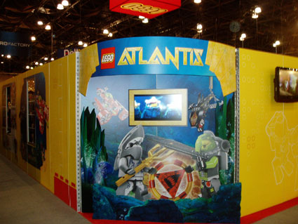 LEGO Atlantis Toy Fair 2010