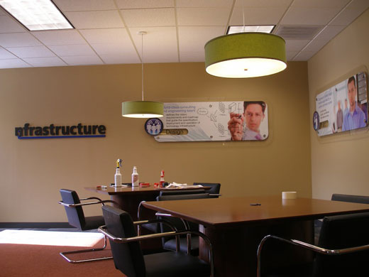 nfrastructure technologies interior design