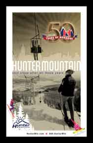Creatacor Nori Award Winner 2009 - Hunter Mountain Metro Poster