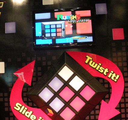 Techno Source Rubik's Slide at Toy Fair 2010