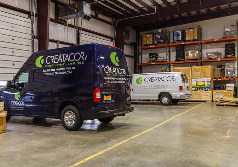 Creatacor Full Service Trade Show Exhibit Facility New York