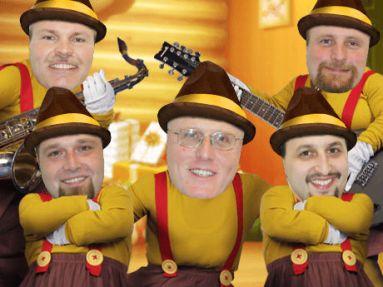 Creatacor All Men's Holiday Rock Band