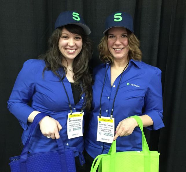 Amy and Courtney from Creatacor at EXHIBITORLIVE!  2015