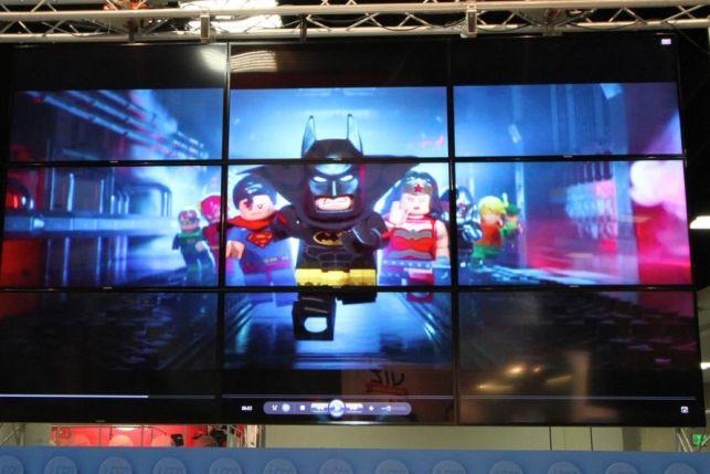 Video Wall - LEGO San Diego Comic-Con 2016