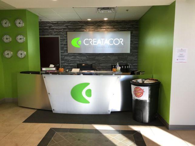 The lobby of Creatacor