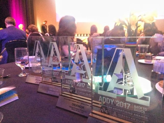 Creatacor takes home 4 ADDY Awards in 2017