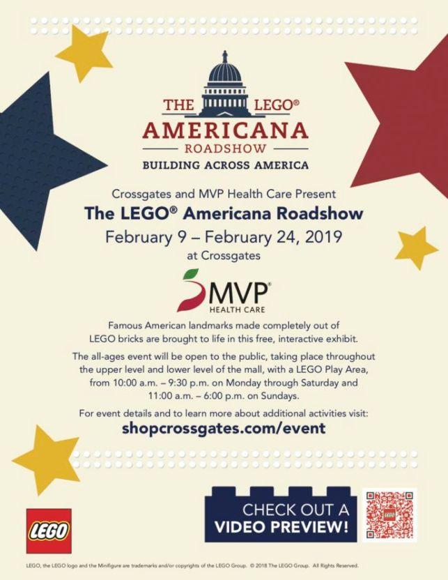 LEGO Americana Roadshow Flyer